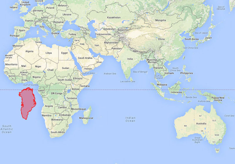 Is greenland bigger than africa or australia hic sunt dracones greenland and africa gumiabroncs
