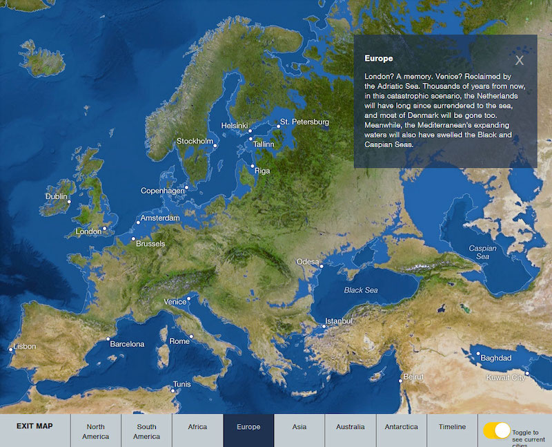 If all the ice melted maps hic sunt dracones melted europe gumiabroncs Image collections